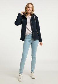 Schmuddelwedda - Fleece jacket - marine melange - 1
