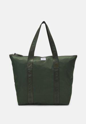 SHOPPER UNISEX - Tote bag - dark army