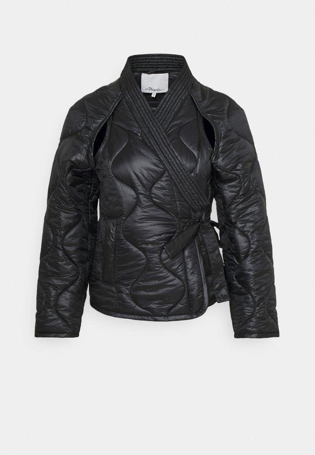 UTILITY JACKET - Zimní bunda - black