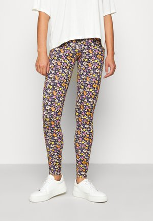 ONLBELLA LIVE LOVE LEGGINGS  - Leggings - Trousers - black flower