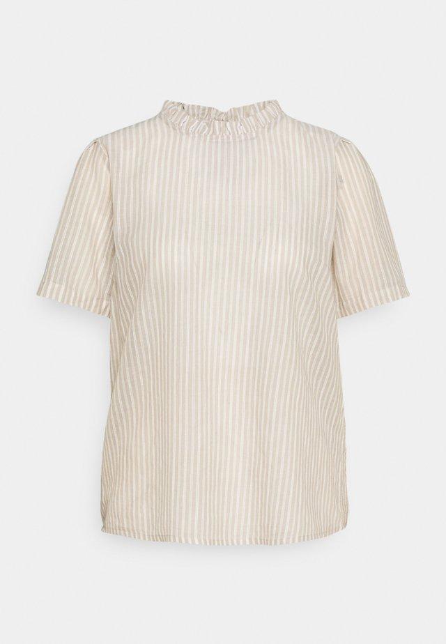 KATINKA BLOUSE - T-shirt imprimé - travertine/chalk