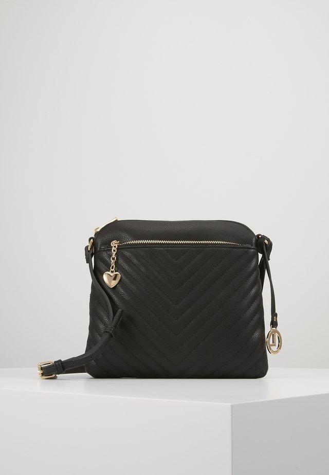 ERLINDA - Across body bag - schwarz