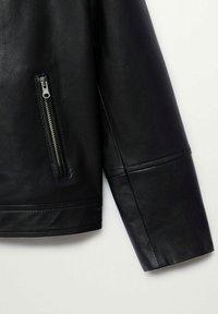 Mango - PERFECTO - Faux leather jacket - schwarz - 2