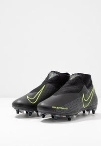 Nike Performance - PHNTOM  - Screw-in stud football boots - black/volt - 2