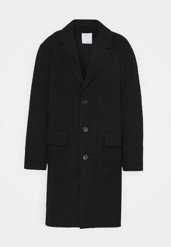 LESS - Classic coat - noir