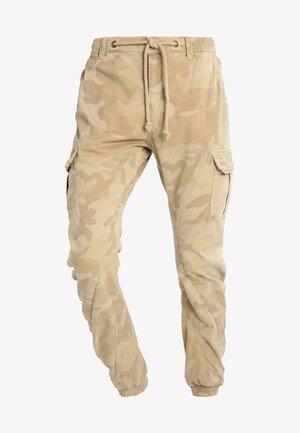 Pantaloni cargo - sand