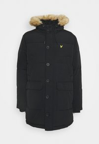 HEAVYWEIGHT LONGLINE PUFFER JACKET - Winter coat - jet black