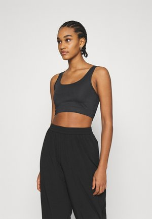 NA-KD X ZALANDO EXCLUSIVE CROPPED - Top - black