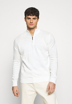 KESTER - Jersey de punto - vintage white/light grey marl