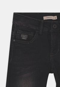 Name it - NKMSOFUS - Denim shorts - black denim - 2