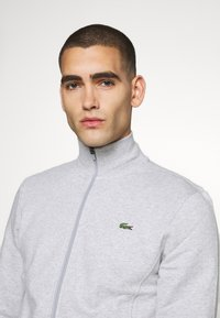 Lacoste Sport - CLASSIC JACKET - Zip-up hoodie - silver chine/elephant grey - 3
