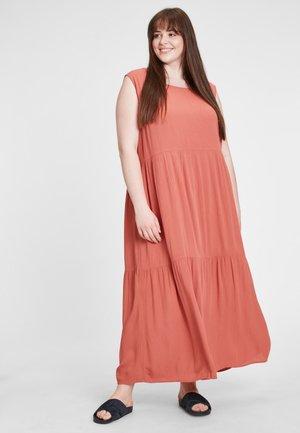 Maxi dress - bronze