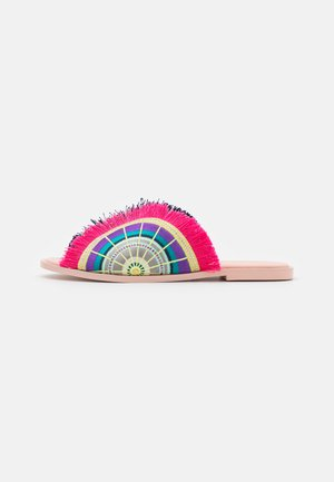 MONA - Sandalias planas - crystal pink/multicolor