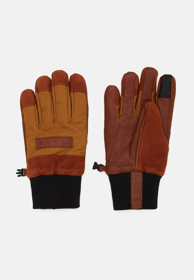 PINTO GLOVE - Sormikkaat - red earth/caramel