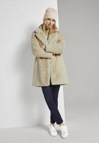 TOM TAILOR - Winter coat - warm sand beige - 1