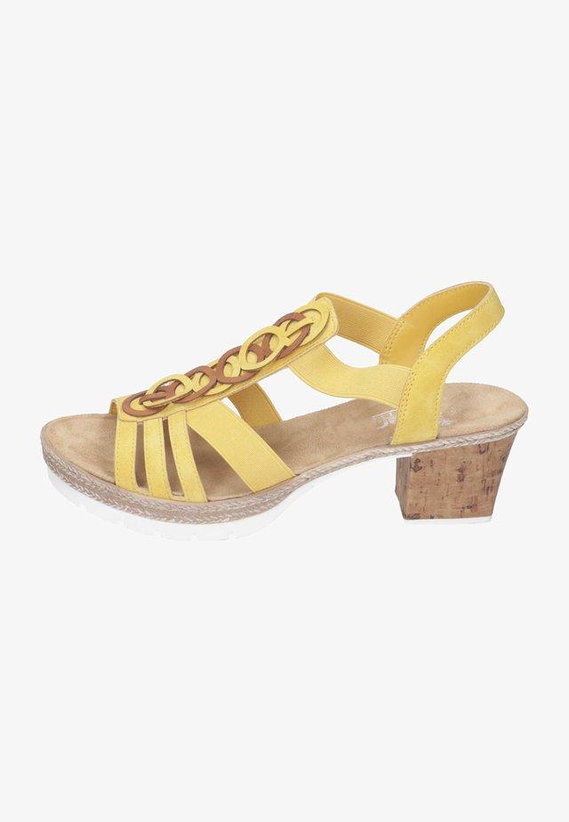 Sandalen - sonne cayenne