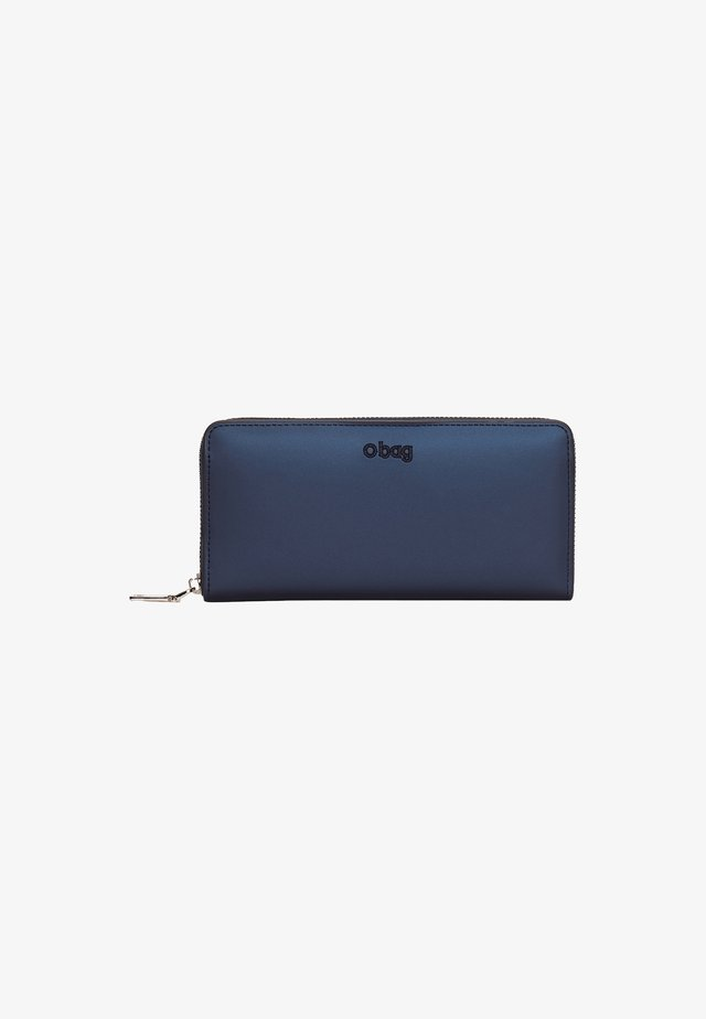 Portafoglio - blu navy metal