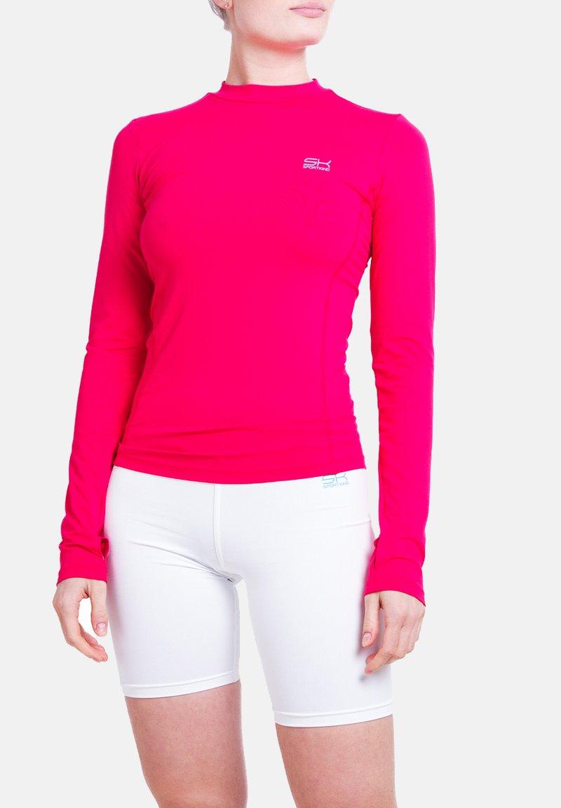 SPORTKIND - Sports shirt - pink