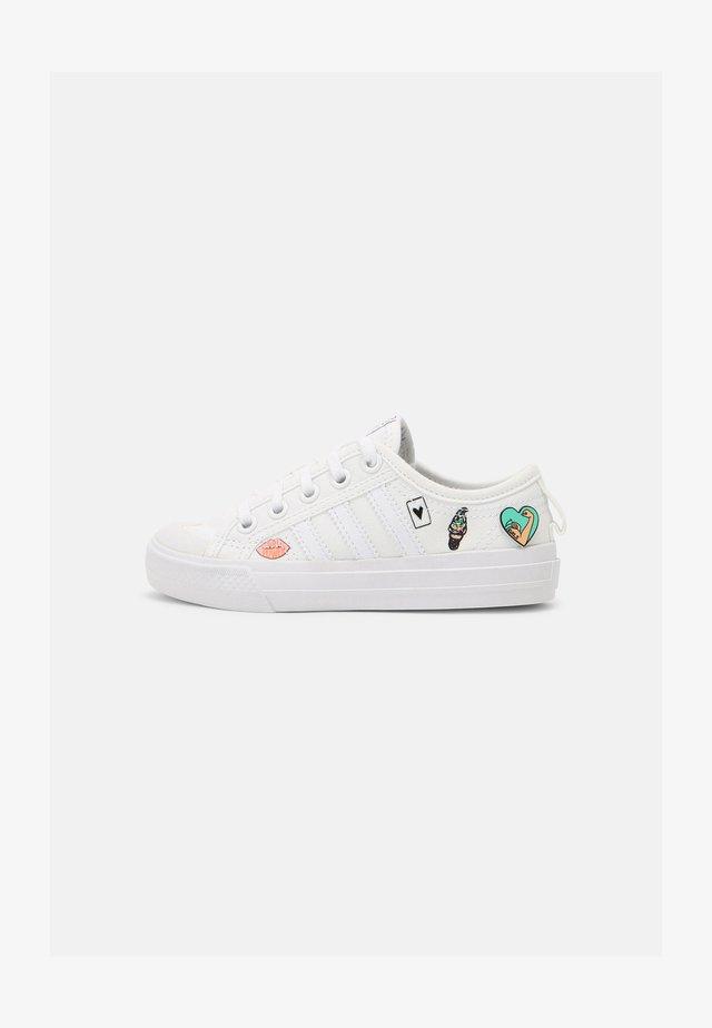 NIZZA UNISEX - Sneakers laag - white