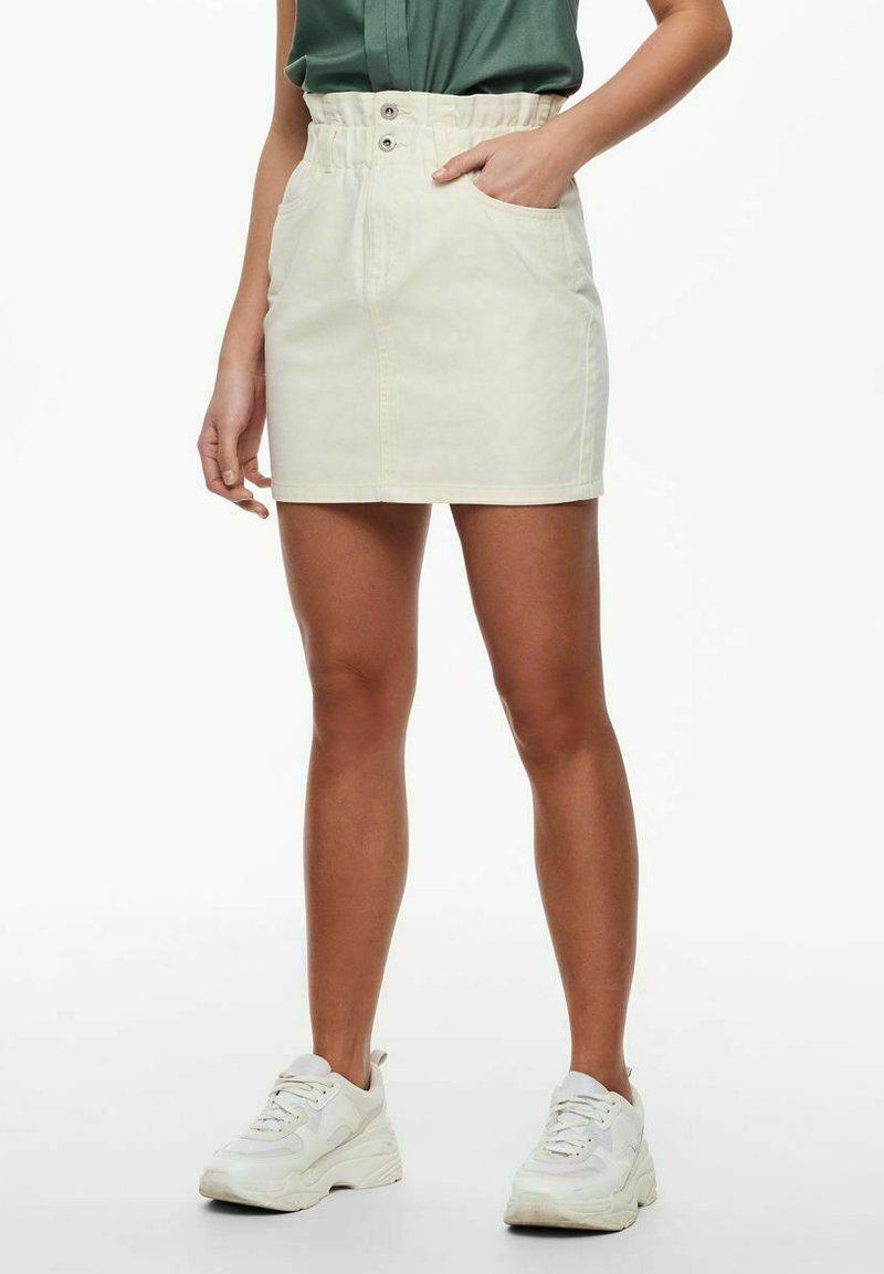 ONLY - Mini skirt - ecru