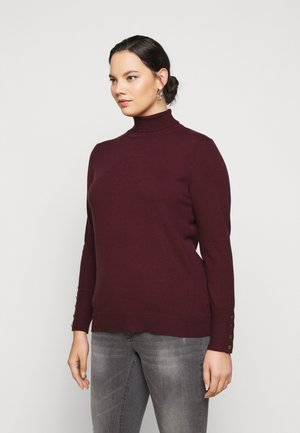 KCLORA ROLLNECK - Jumper - port royale