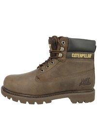 Cat Footwear - COLORADO - Šněrovací vysoké boty - chocolate - 4