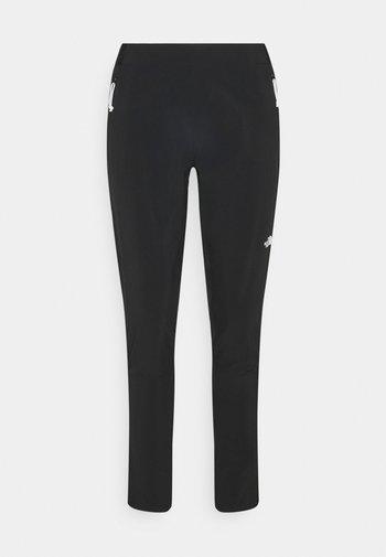 GLACIER PANT - Trousers - black