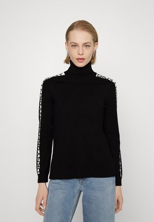 Pullover - black/ivory
