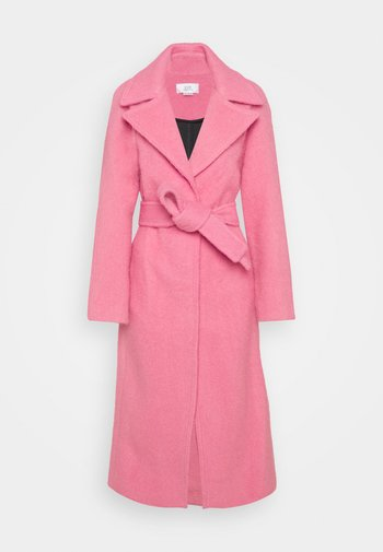 BRUSHED COAT - Cappotto classico - candy pink