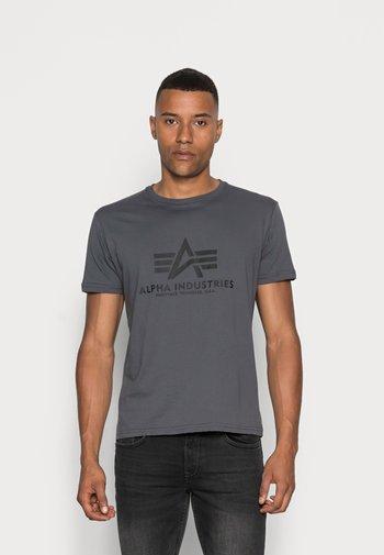 Printtipaita - grey/black