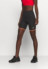 ASICS - FUTURE TOKYO SPRINTER - Tights - performance black/sunrise red - 0
