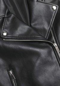Mango - Faux leather jacket - schwarz - 2