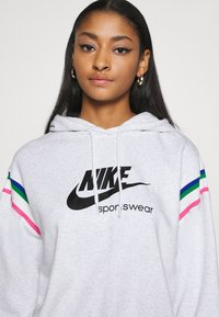 Nike Sportswear - HOODIE - Kapuzenpullover - birch heather/black - 5
