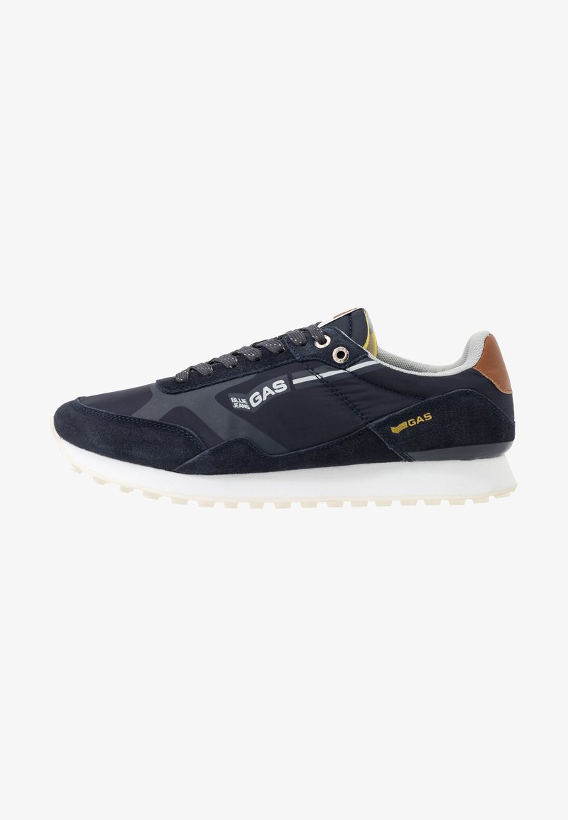 GAS Footwear - BORA MIX - Trainers - navy
