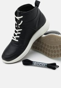 ECCO - SOFT 7 RUNNER - Sneakersy wysokie - black - 4