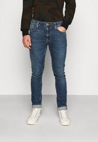 Nudie Jeans - LEAN DEAN - Slim fit jeans - blue vibes - 0