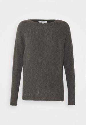 BYOLYMPIA BAT SLEEVE - Sweter - medium grey melange