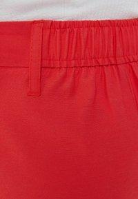 Bershka - WIDE LEG - Pantaloni - red - 5