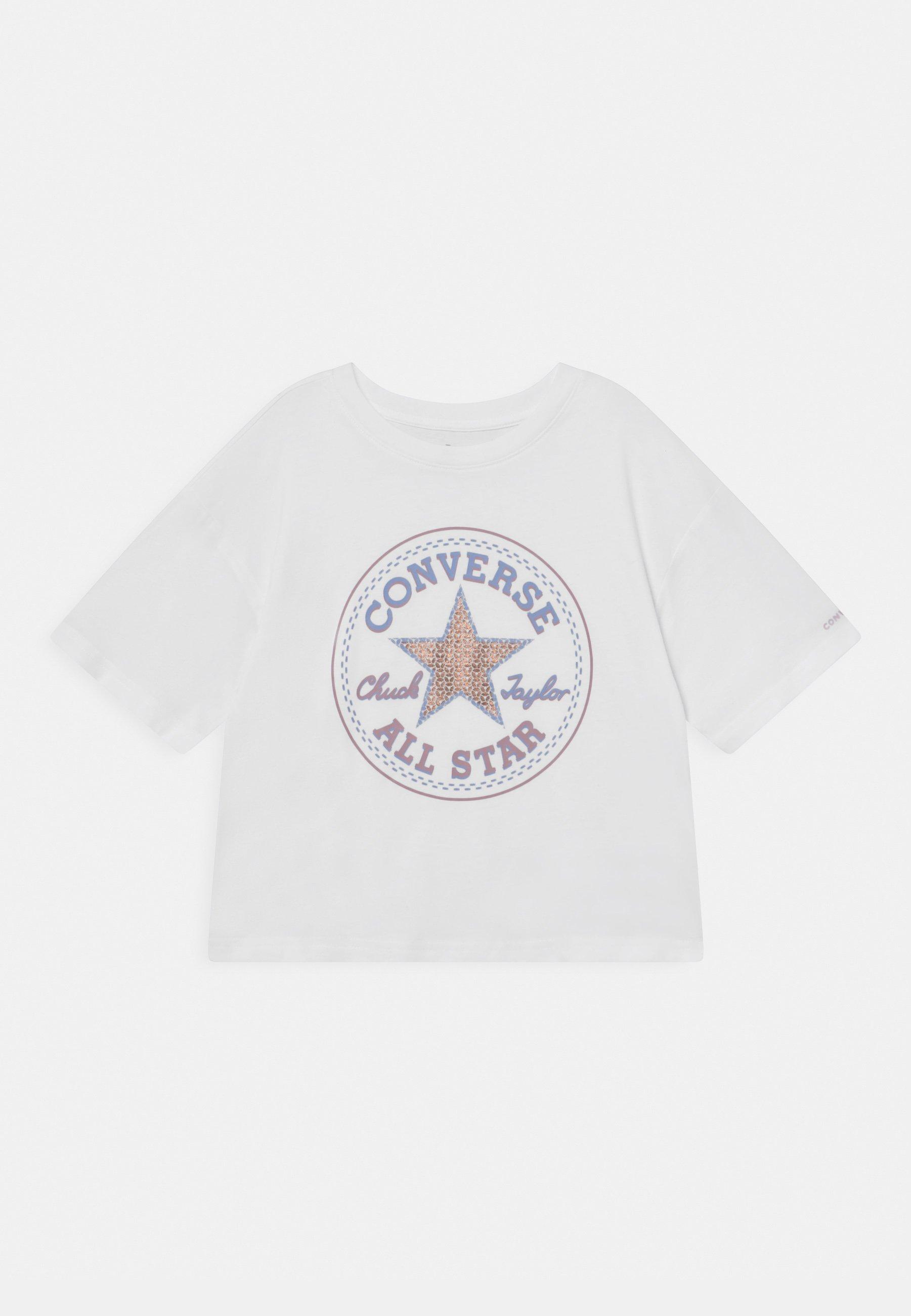 Kids STAR FLIP SEQUIN BOXY TEE - Print T-shirt