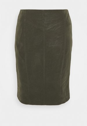 VIWINTYS SHORT SKIRT - A-line skirt - forest night