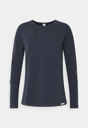 DAMEN LANGARM HOME HUB - Nattøj trøjer - space blue