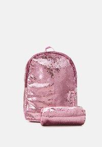Name it - BAG SET - Rucksack - pink peacock - 3