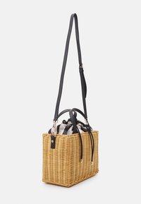 kate spade new york - MEDIUM SATCHEL - Handbag - black/multi - 1