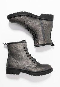 Mexx - DANINE - Lace-up ankle boots - gunmetal - 3