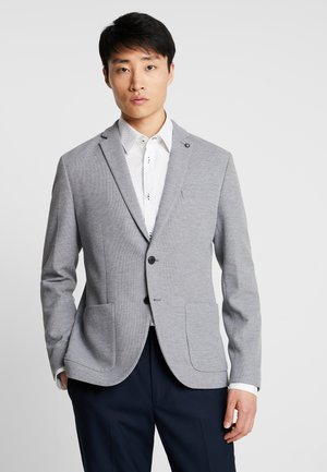 SLHSLIM IKEN BLAZER - Marynarka - light grey melange