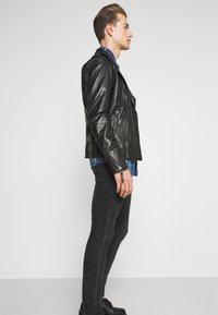 Oakwood - SOLDIER - Leather jacket - black - 4