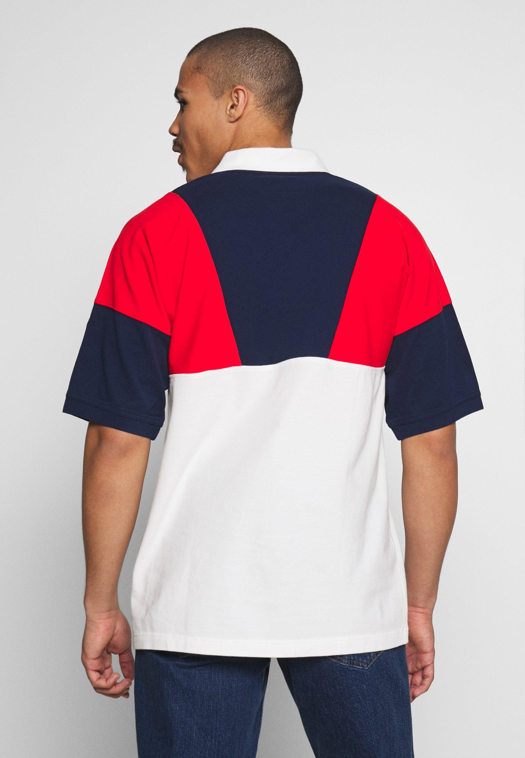 adidas Originals Polo shirt - red/white/blue H4XZg