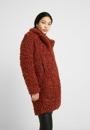 ONLCAMILLA COAT - Winter coat - burnt henna