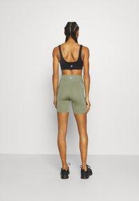 Cotton On Body - SCALLOP HEM BIKE - Medias - basil green - 2