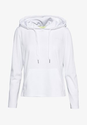 ONPADELLA HOOD TEE - Jersey con capucha - white